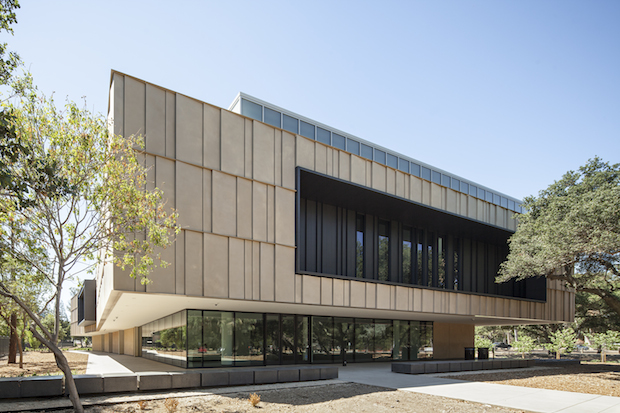 The building housing the Anderson Collection at Stanford University was designed to offer a casual and accessible experience of the artworks within. - Henrik Kam